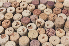 A lot of wine corks Royalty Free Stock Image