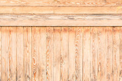 A lot of wooden boards are located horizontally and vertically Stock Photo