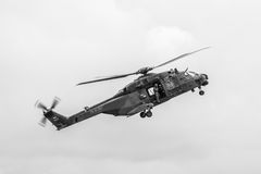 Lota helikopter NH90 armia niemiecka Zdjęcia Royalty Free
