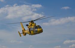 lota helikopteru kolor żółty Fotografia Stock