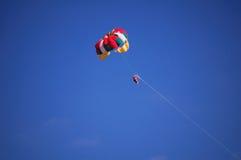 lota spadochron Zdjęcie Stock