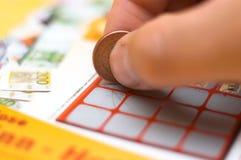 Lotaria imagem de stock royalty free
