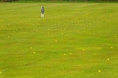 Lote das esferas Foto de Stock Royalty Free