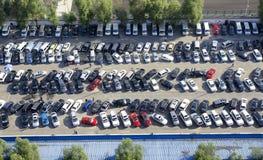 Lote de estacionamento Imagens de Stock