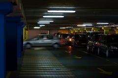 Lote de estacionamento Fotos de Stock Royalty Free