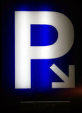 Lote de estacionamento ilustração royalty free