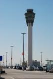 Lote de estacionamento no aeroporto Fotos de Stock Royalty Free