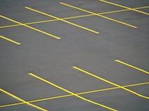 Lote de estacionamento vazio Imagem de Stock