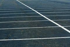 Lote de estacionamento vazio Foto de Stock