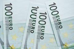Lote de euro en efectivo Imagen de archivo