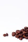 Lote de feijões de café Fotografia de Stock