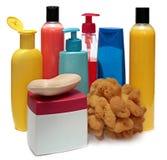 Produtos cosméticos para cuidados pessoais Fotografia de Stock