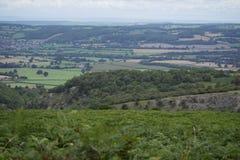 Lote del faro a País de Gales Imagen de archivo libre de regalías