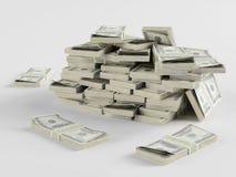 Lote do dinheiro ilustração royalty free