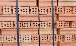 Lote dos tijolos imagens de stock royalty free