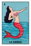 LoterÃa Mexicana - La Sirena - immagine di alta risoluzione