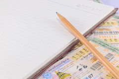 Lotería Tailandia Imágenes de archivo libres de regalías