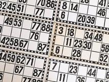 Loteria Imagen de archivo libre de regalías