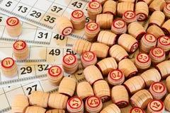 Loteria del ruso del juego Foto de archivo