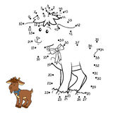 Loteria liczbowa (kózka) ilustracji