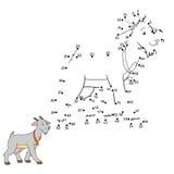 Loteria liczbowa (kózka) ilustracja wektor