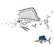 Loteria liczbowa, Sailfish royalty ilustracja