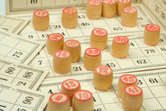 Loteria rusa Imágenes de archivo libres de regalías