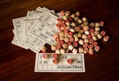 Loteria soviética Fotos de archivo