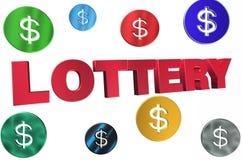 loterie Photos libres de droits