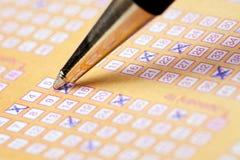 Loterij stock afbeeldingen