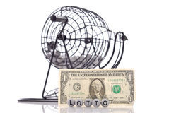 Loterij royalty-vrije stock afbeelding