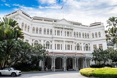 Loterijenhotel, Singapore stock afbeelding