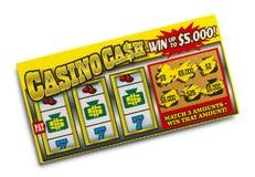 Loterijkaartje Royalty-vrije Stock Afbeeldingen
