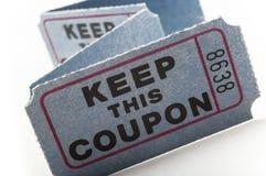 Loterijkaartjes royalty-vrije stock fotografie