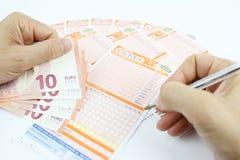 Loterijspel in Italië Royalty-vrije Stock Afbeelding