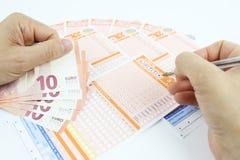 Loterijspel in Italië Royalty-vrije Stock Fotografie