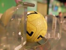 Loteryjne piłki podczas ekstrakci Fotografia Stock