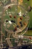 Loteryjne piłki podczas ekstrakci Zdjęcie Royalty Free
