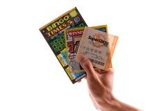 loteryjny bawić się Zdjęcia Stock