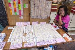 Loteryjny sprzedawca Zdjęcia Stock