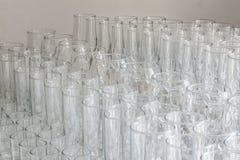 Lotes da tabela dos vidros Imagem de Stock Royalty Free