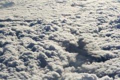 Textura das nuvens Foto de Stock