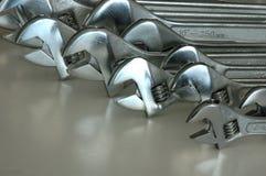 Lotes de chaves ajustáveis Imagem de Stock Royalty Free