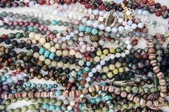 Lotes de Mala Beads fotos de stock royalty free