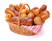 Lotes de produtos doces da padaria Imagens de Stock Royalty Free
