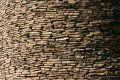 Lotes de rochas lisas Imagens de Stock
