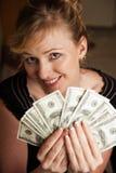 Lotes do dinheiro Foto de Stock Royalty Free