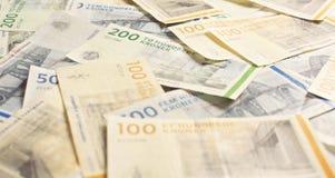 Lotes do dinheiro Imagem de Stock