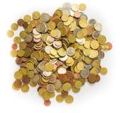Lotes do dinheiro fotografia de stock royalty free