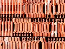 Lotes do fundo da telha de telhado Fotos de Stock